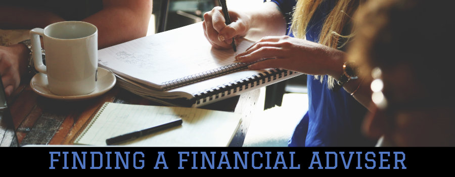 finding a financial adviser